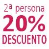 2 Noches AGUA-20% DTO Acompañante