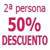 1 Noche MIMATE 50% Dto Acompanante