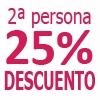 1 Noche BASICA 25% Dto Acompa�ante
