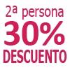 2 Noches AGUA (30% dto acompa�ante)
