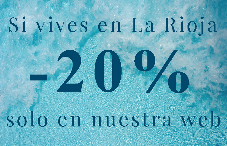 20%Dto si vives en la Rioja