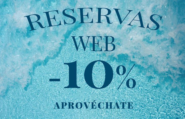 Reservas Web 10% Dto